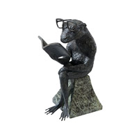 Theodore Alexander Amphibian Reader Table Top Accessory in Bronze 1023-051