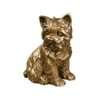 Theodore Alexander Dogs Earnest, A Puppy Table Top Accessory in Brass 1023-109