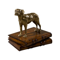 Dogs Brass Table Top Accessory