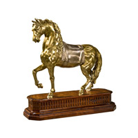 Theodore Alexander Horses Brass Dressage Table Top Accessory in Brass 1023-122