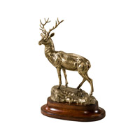 Theodore Alexander Essential Brass Cerf Table Top Accessory in Brass 1023-159