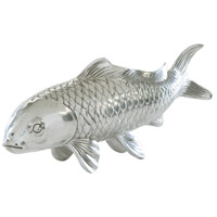 Theodore Alexander Vanucci Eclectics Poisson Sculpture in Polished Aluminium 1025-010