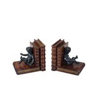 Angelic Medium Brown Bookends