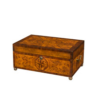 Theodore Alexander Parquetry Star Box in Medium Brown 1105-041