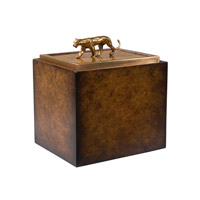 Theodore Alexander 1105-133 Empire 6 X 5 inch Light Brown Decorative Box