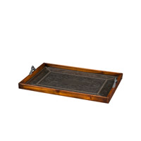 Theodore Alexander Armoury Tray in Bronze 1121-011