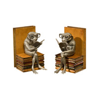 Theodore Alexander Reading Group set of 2 Bookends in Light Brown 1121-071