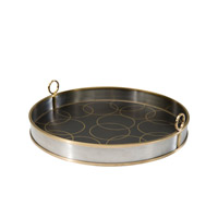 Theodore Alexander Vanucci Eclectics The Repeat Tray in Brass 1121-101