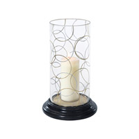 Theodore Alexander Vanucci Eclectics Light Interlaces Hurricane Candle Lamp 1333-001