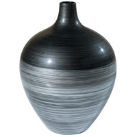 Theodore Alexander Vanucci Eclectics Silvered Shimmer Vase in Grey 1502-189