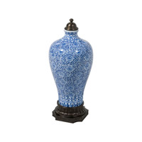 Theodore Alexander Emperor Vase in Blue and White 1554-513