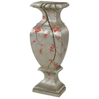 Winter Blossom Silver Pedestal Desk