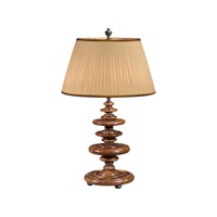 Castle Bromwich 34 inch 75 watt Medium Brown Table Lamp Portable Light