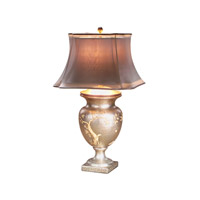 Theodore Alexander La Vie en Rose Table Lamp in Cream with Organza And Silk Double Shade 2002-323
