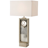 Theodore Alexander 2002-466 Corail 34 inch Mottled Silver Table Lamp Portable Light photo thumbnail