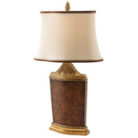 2005-045 Theodore Alexander Theodore Alexander 28 inch 40 watt Light Brown Table Lamp Portable Light