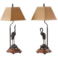 2021-633 Theodore Alexander Theodore Alexander 33 inch 75 watt Medium Brown Table Lamp Portable Light