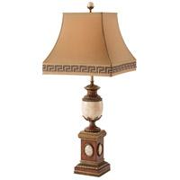 2021-709 Theodore Alexander Theodore Alexander 40 inch 75 watt Cream Table Lamp Portable Light