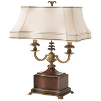 2021-712 Theodore Alexander Theodore Alexander 30 inch 40 watt Medium Brown Table Lamp Portable Light
