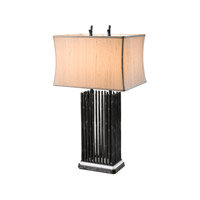 Essential 30 inch 40 watt Verdigris Table Lamp Portable Light