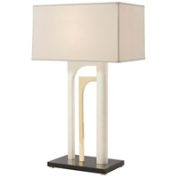 Enclose 30 inch Stucco Table Lamp Portable Light