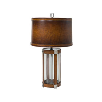 Vanucci Eclectics 30 inch 75 watt Stainless Steel Table Lamp Portable Light