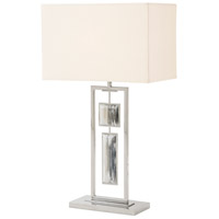 Theodore Alexander 2029-116 Sway 32 inch Stainless Table Lamp Portable Light photo thumbnail