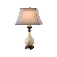 From the Ladys Table 31 inch 75 watt Cream Table Lamp Portable Light