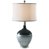 Theodore Alexander 2054-068 Vanucci Eclectics 33 inch 75 watt Grey Table Lamp Portable Light