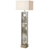 Theodore Alexander 2102-032 Corail 65 inch Mottled Silver Floor Lamp Portable Light