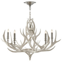 Exmow 5 Light 36 inch Limewash Chandelier Ceiling Light