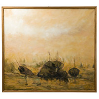 Theodore Alexander 3002-043 Seafarer 62 X 56 inch Painting