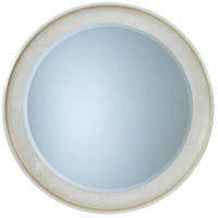 Pose 54 X 54 inch Silver Leaf Wall Mirror Home Decor, Circular
