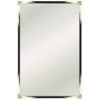 Theodore Alexander 3102-449 Theodore Alexander 82 X 54 inch Black Lacquer Floor Mirror, Large