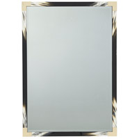 Cutting Edge 54 X 38 inch Black Lacquer Mirror Home Decor, Small