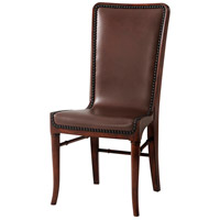 Leather Sling Side Chair