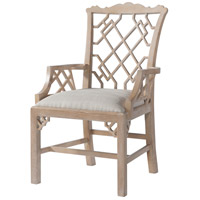 Sea Cliff Cerused Oak Armchair