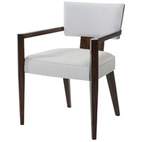 55 Broadway Pacific Walnut Veneer Dining Armchair Home Decor
