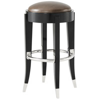 Walker Ebonised Mahogany Counter Stool Home Decor