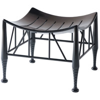 Hayward Ebonised Stool Home Decor