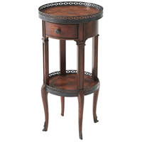 Theodore Alexander 5000-029 Walnut Circle 28 X 14 inch Lamp Table