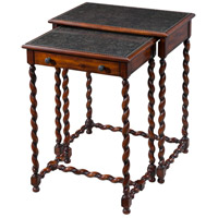 Theodore Alexander 5000-220 Lightly Engraved 27 X 22 inch Nesting Tables