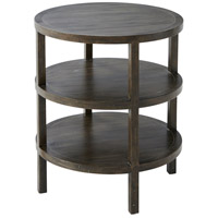 Hemway 23 inch Cocoa Accent Table Home Decor