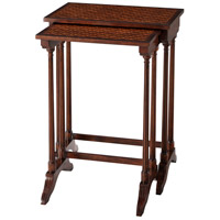 A Parquetry Nest 26 X 19 inch Nesting Tables