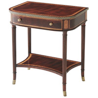 Donwell 24 inch Mahogany Veneer Bedside Table Home Decor