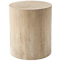 Sawyer 20 inch Aged Oak Accent Table Home Decor