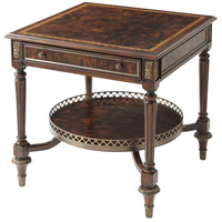 Amorette 26 inch Georgian Soft Brown Accent Table Home Decor