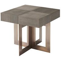 Bloc 26 inch Basalt Accent Table Home Decor
