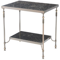Marmion 28 inch Antique Brass Accent Table Home Decor