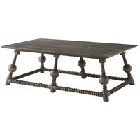 Rivera 58 inch Cocoa Console Table Home Decor
